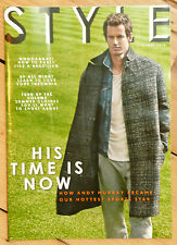 Sunday times style magazine 8 juin 2014 Andy Murray Brésil Fashion Florals