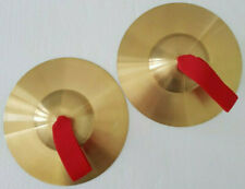 More details for handheld cymbals 7'' percussion pair marching classro0m school music - ccc-1