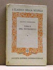 LIRICI DEL NOVECENTO - S. Chiereghin [Libro, Società edit. internazionale]