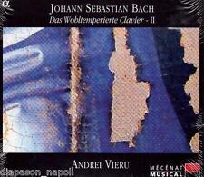 Bach: Il Clavicembalo Ben Temperato Libro 2 / Andrei Vieru - CD