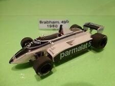 F.D.S. FDS KIT (built) - BRABHAM BT49 1980 - PARMALAT PIQUET - F1 1:43 - NICE.C