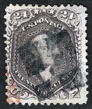 US Sc 70 Red Lilac Shade Neat Cancel