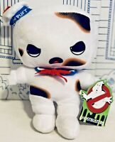 """New Ghostbusters Stay Puft Burnt Marshmallow Toy Factory Toasted Plush Doll 10"""""""