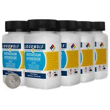 Potassium Hydroxide 25 Pounds 8 Bottles 99 Pure Food Grade Fine Flakes