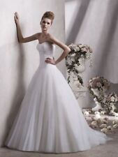 Lace A-Line Tulle Wedding Dresses