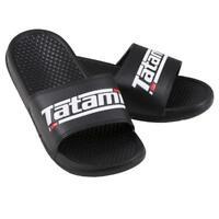 Tatami Sliders Black BJJ Sandals MMA Jiu-Jitsu Flip Flops Martial Arts
