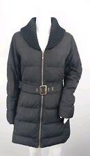 Marks & Spencer M&S Per Una 8 36 Stormwear Black Puffa Quilted Belt Jacket Coat