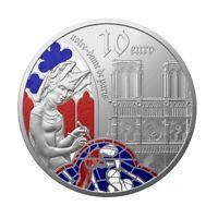 10 euro France 2020 argent BE - Europa / Gothique / Notre-Dame de Paris