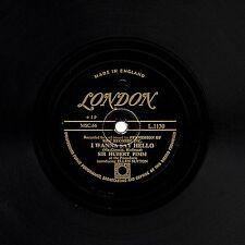 GOLD LONDON SIR HUBERT PIMM/ I WANNA SAY HELLO BILL SNYDER/CHICAGO BLUES L1130 E