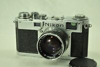Nikon Nippon Kogaku Tokyo S2 und Nikkor SC 5cm ( 50mm ) 1:1.4