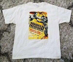 2008 MARQUEZ vs.PACQUIAO II Tshirt XL White