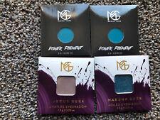 NIP Lot Of 4 Makeup Geek Eyeshadows Blue Cool Tones Indie Makeup NEW
