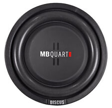 """MB Quart DS1-204 8"""" Shallow Mount Car/Truck Subwoofer w/Poly Cone+2"""" Voice Coil"""
