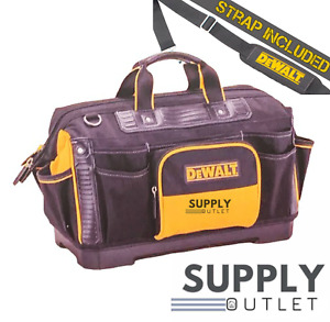 Tool Bag DeWALT 18'' Rigid Bag Hand And Power Tools Storage + Shoulder Strap New