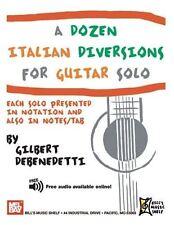 A Dozen Italian Diversions for Guitar Solo
