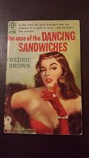 "Fredric Brown, ""case of the Dancing Sandwiches,"" 1951, Dell 33, VG, 1st"