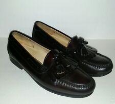 Cole Haan Oxblood Leather Tassel Kiltie Dress Loafers Men's 11 Shoes Green Label