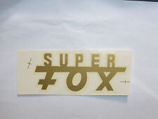 NSU Super Fox Letras Etiqueta adhesivo 01360n 83 x 34mm Oro