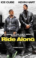 RIDE ALONG - 2014 - Orig 27x40 D/S Advance movie poster - ICE CUBE, KEVIN HART