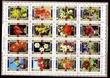 Umm al Qiwain 1972 vfu Mi.1034/49 A Blumen Flowers