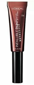 L'Oréal Infallible Paints Lips Metallics #336 Liquid Venom .27 oz