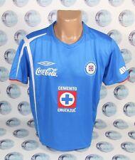 31f993039 CRUZ AZUL 2005 2006 HOME FOOTBALL SOCCER SHIRT JERSEY CAMISETA UMBRO BLUE