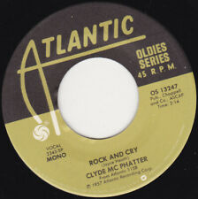 """CLYDE McPHATTER - Rock And Cry 7"""" 45"""