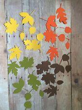 FALL Leaves - Die Cuts - Asst Colors