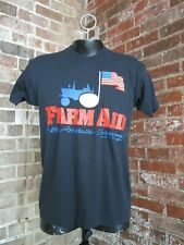 Vtg 1985 Farm Aid First Concert T Shirt (Xl) Bob Dylan/Tom Petty/Johnny Cash
