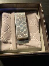 Gucci Sterling Silver Money Clip
