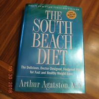 THE SOUTH BEACH DIET BOOK HARDCOVER DUST JACKET BY ARTHUR AGATSTON MD 2003