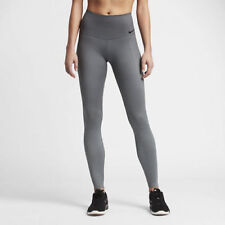 NIKE WOMENS ZONAL STRENGTH HIGH RISE GREY BLACK TRAINING TIGHTS 830475 XS $150