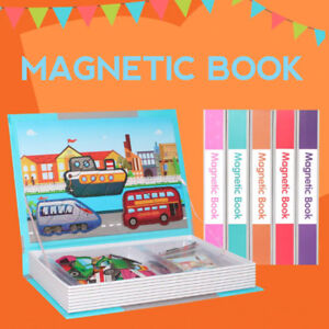 Magnetic Book Puzzle Children Educational Toy FREE POSTAGE
