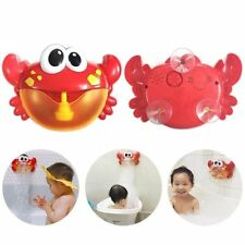 Kids Toy For Bath Children Funny Bubble Machine Bathroom Foam Maker Red Crab