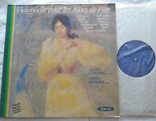 ALETH LAMASSE /DARIA HOVORA Violoncelle CELLO Ex to NM- FRANCE Forlane STEREO LP