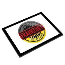 A3 Glass Frame - Frankfurt Germany Deutschland Art Gift #6019