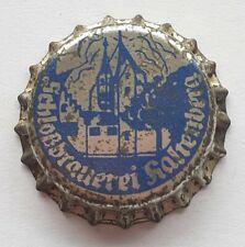 Kronkorken, alt, Schloßbrauerei Kaltenberg unverkorkt 1974, old crown bottle cap