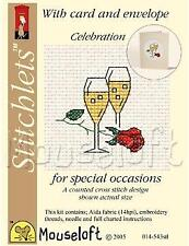 Mouseloft Stitchlets For Special Occasions With Card and Envelope - Celebration