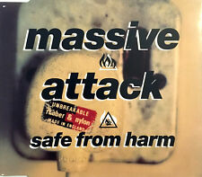 Massive Attack ‎Maxi CD Safe From Harm - Europe (EX+/EX)