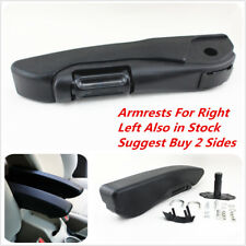 Car Truck Black Adjustable Armrests Arm Rest PU Foam Comfortable Right Side