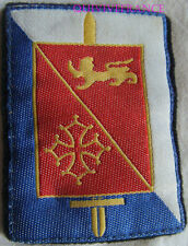 IN8148 - PATCH INSIGNE TISSU CMD Bordeaux