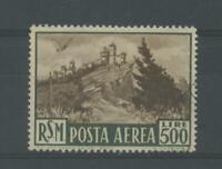 SAN MARINO 1951 POSTA AEREA L.500 US.