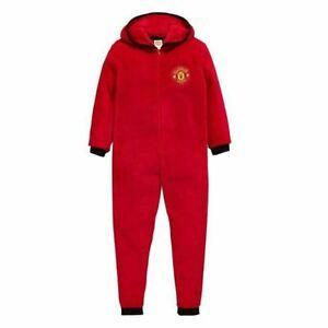 Mens Manchester United Onesie Man Utd Jumpsuit (onesy onsie pyjamas not gerber