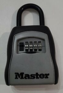 MASTER LOCK BOX COMBINATION SECURITY KEY STORAGE SAFE REAL ESTATE REALTOR SECURE