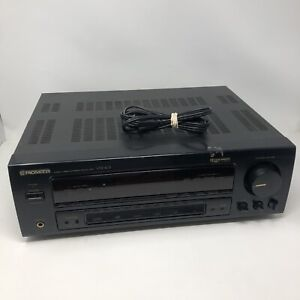 Pioneer VSX-403 Home A/V AM/FM Surround Sound Stereo Receiver Tested & Working