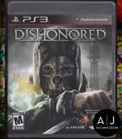 Dishonored (Sony PlayStation 3, 2012) PS3