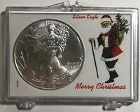 SANTA CLAUS - MERRY CHRISTMAS- 2019 American Eagle 1 oz. - .999 FINE SILVER COIN