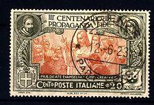 ITALIA - Regno - 1923 - 3° centenario della Congregazione di Propaganda Fide