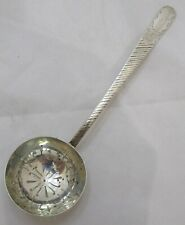 Antique Victorian Sterling silver sifter ladle, 1900, Heath & Middleton, 29g