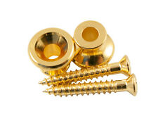 Genuine Kluson replacement Gibson strap button set (set of 2), Gold